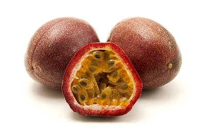 Passion Fruits Print by Fabrizio Troiani