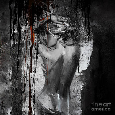 Human Figure Painting - Passion by Gull G