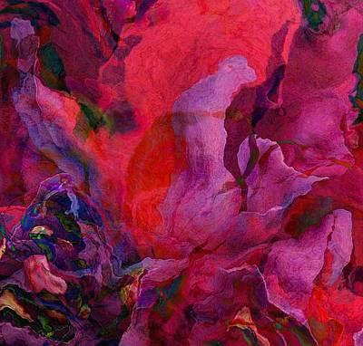 Rich Blue Digital Art - Passion by Lori Seaman
