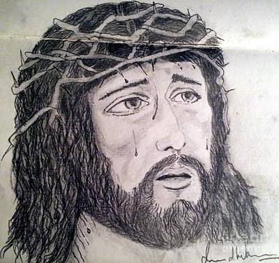 Painting - Passion Of Christ by Brindha Naveen