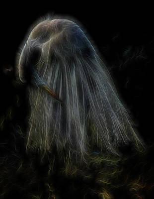 Digital Art - Passion Of Prayer by William Horden