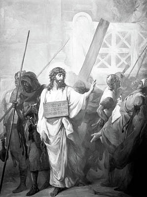 Photograph - Passion Of The Christ by Munir Alawi