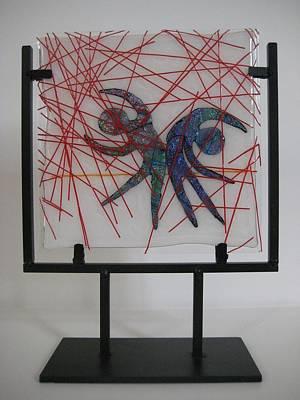 Passion Rain Art Print by Mark Lubich