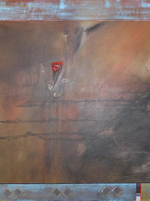 Painting - Passion Rose by Noel Jones