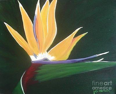Painting - Passion Unfolding 3 by Lori Jacobus-Crawford