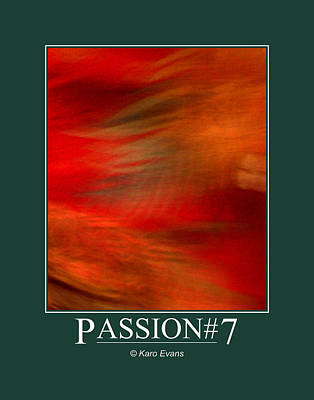 Digital Art - Passion#7 by Karo Evans
