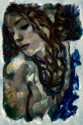 Nude Portraits Digital Art - Passionate by Gun Legler