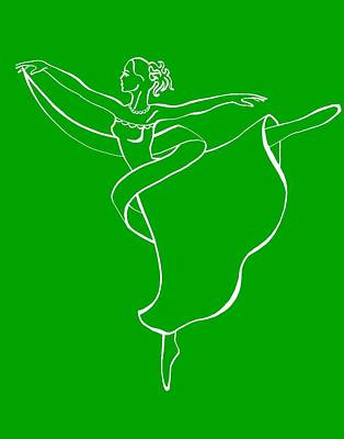Royalty-Free and Rights-Managed Images - Passionate Lines Dance by Irina Sztukowski