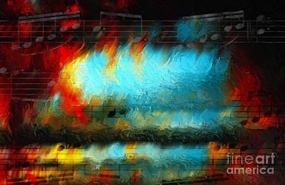 Digital Art - Passionate Passage by Lon Chaffin