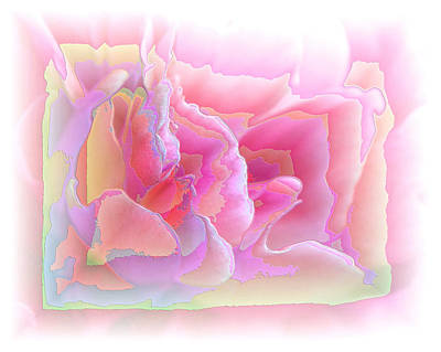 Photograph - Passionate Pink Enamel by Carolyn Jacob