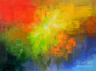 Painting - Passionate Plumage by Tatiana Iliina