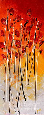 Painting - Passionate by Preethi Mathialagan