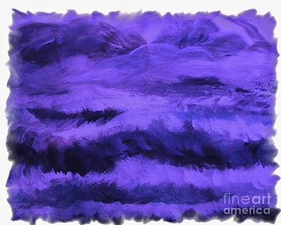 Passionate Purple Original by Marsha Heiken