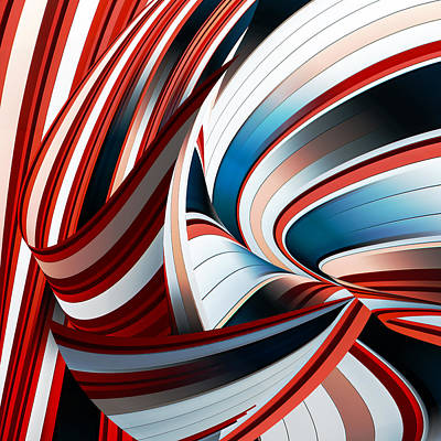 Modern Abstract Photograph - Passione Annodata by Gilbert Claes