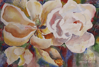 Painting - Past Full Bloom by Linda Rupard