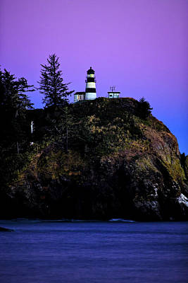 Photograph - Past Sunset At Cape Disappointment by Mary Jo Allen