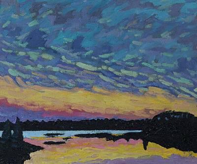 Past Tell Sunset Original by Phil Chadwick