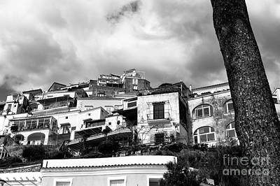 Photograph - Past The Tree In Positano by John Rizzuto