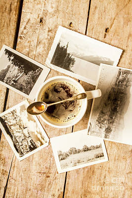 Photograph - Past Time Tea by Jorgo Photography - Wall Art Gallery