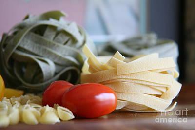 Photograph - Pasta Con Pomodoro 2 by Lynn England