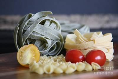 Photograph - Pasta Con Pomodoro by Lynn England
