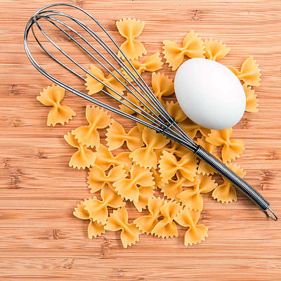 Photograph - Pasta Egg Whisk by Rebecca Cozart
