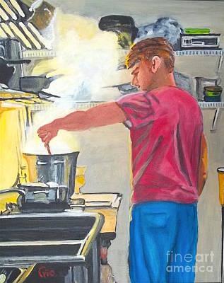 Pasta's Al Dente Art Print