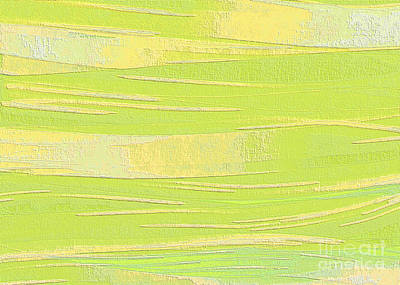 Digital Art - Pastel Acrylic Flowed Onto Canvas by Ed Churchill