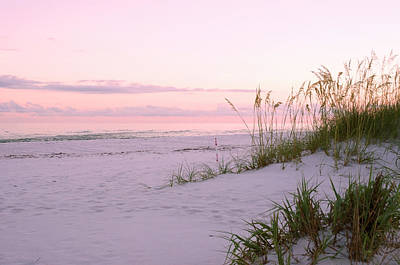 Photograph - Pastel Beach Sunset by Marie Hicks