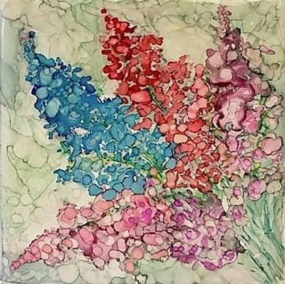 Painting - Pastel Bouquet by Brenda Owen