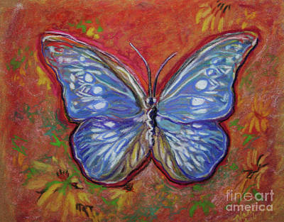 Pastel Butterfly Original by Michele Hollister - for Nancy Asbell