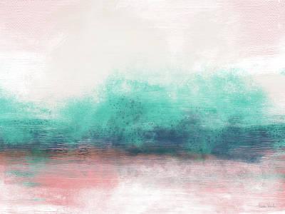 Coast Painting - Pastel Coastal Escape-  Art By Linda Woods by Linda Woods