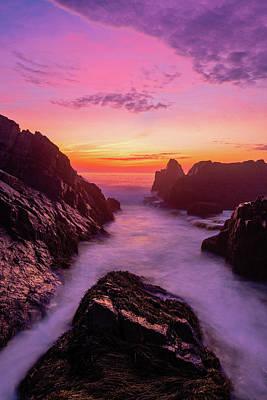 Photograph - Pastel Dawn - Vertical by Michael Blanchette
