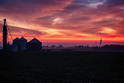 Photograph - Pastel Farm by CJ Schmit