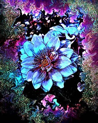 Digital Art - Pastel Flowers by Artful Oasis