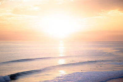 San Clemente Ca Photograph - Pastel Horizon by Collin O'Rourke