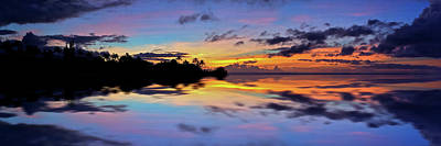 Photograph - Pastel Island Sunset by Richard Hinds