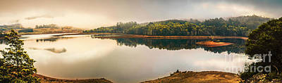 Photograph - Pastel Lake Panorama by Jorgo Photography - Wall Art Gallery