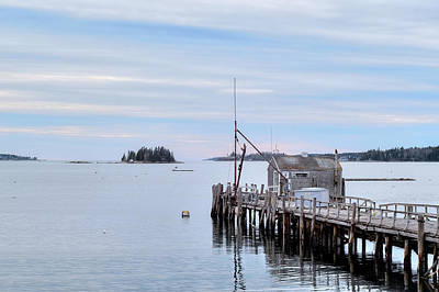 Photograph - Pastel Maine by Patrick Groleau