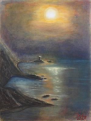 Pastel Msc 002 Art Print