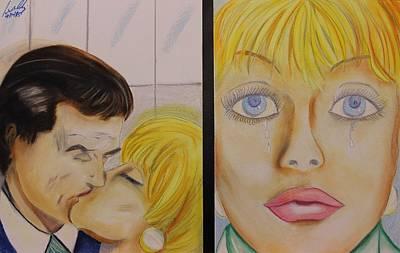 Painting - Pastel Msc 005 by Mario Sergio Calzi