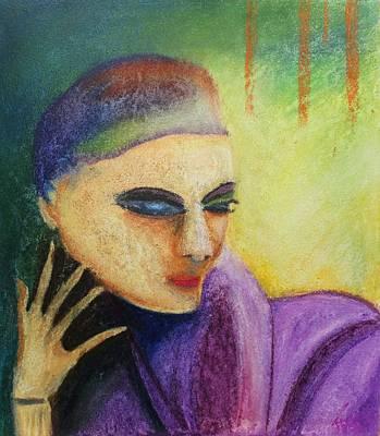 Painting - Pastel Msc 008 by Mario Sergio Calzi