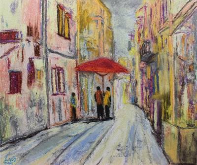 Painting - Pastel Msc 010 by Mario Sergio Calzi