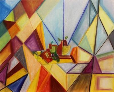 Painting - Pastel Msc 014 by Mario Sergio Calzi