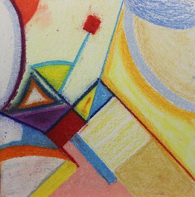 Painting - Pastel Msc 015 by Mario Sergio Calzi