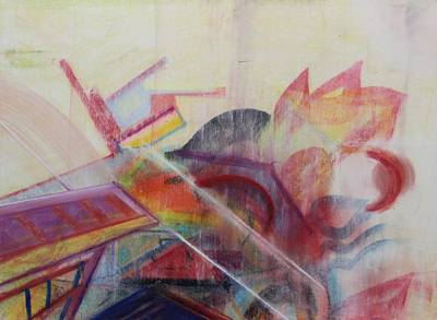 Painting - Pastel Msc 018 by Mario Sergio Calzi