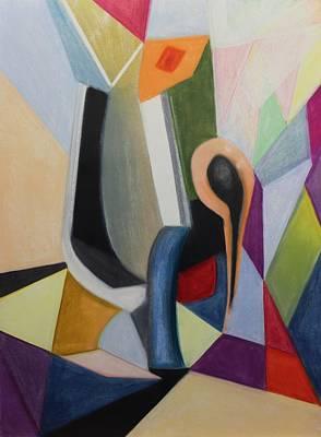 Painting - Pastel Msc 019 by Mario Sergio Calzi