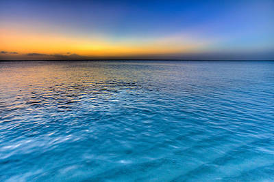 Turks And Caicos Islands Photograph - Pastel Ocean by Chad Dutson