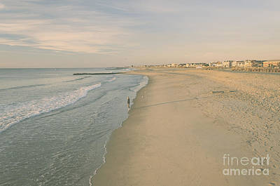 Photograph - Pastel Ocean Grove Sunrise by Debra Fedchin