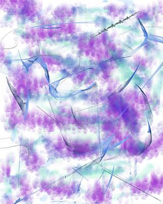 Digital Art - Pastel Peaceful Feelings by Barbara Burns